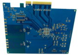 1.6mm Raad van 8 van de Laag de Gouden PCB van de Vinger voor de Componenten van de Elektronika