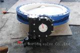 Выровнянная PTFE клапан-бабочка раздела u с ISO одобренным Wras Ce (CBF04-TU01)
