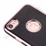 Cas de galvanoplastie de TPU pour l'iPhone 7 positif