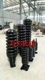 Cylindre de tension, ressort de recul, pièces de rechange d'excavatrice d'Assemblée de réglage de piste