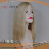 ブラジルの毛のSheitelの絹の上のかつら(PPG-l-0114)