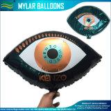 Emojiの誕生日のマイラーの気球を広告する膨脹可能な空気党