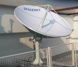 2.4m örtlich festgelegte Satellitenerdefunkstelle Vsat Antenne