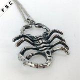 Colgante punky del collar del acero inoxidable del estilo 316L del escorpión de la personalidad