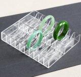 Étalage acrylique de bijou de plateau de bracelet