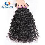 Перуанские человеческие волосы волны воды волны воды 4PCS волос девственницы естественные черные перуанские связывают влажный волнистый дюйм человеческих волос 8-30