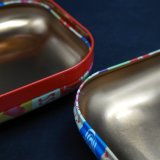 صغيرة جديدة مربّعة زاهية مجوهرات قصدير صندوق/وعاء صندوق ([س001-ف11])