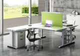 Table de bureau moderne réglable en hauteur de mélamine électrique (HF-YZT032)
