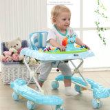販売のための8つのPUの車輪を持つ新しい幼児赤ん坊の歩行者