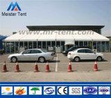 Grande tenda esterna della festa nuziale per gli eventi della fiera commerciale di mostra