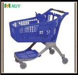 175 litros del Todo-Plástico del supermercado de carro de compras Mjy-CPP175