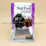 El surtidor y la talla de China modificaron para requisitos particulares se levantan la bolsa de la cremallera para las tuercas/frutos secos