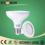 Nouvelle promotion d'éclairage LED Ctorch P20 par ampoule LED 8 W
