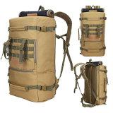 Morral táctico militar impermeable de la caza de la capacidad grande del camuflaje del bolso de múltiples funciones al aire libre del equipaje