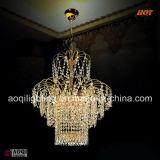 Dekoratives goldenes hängendes Luxuxlicht (AQ7065)