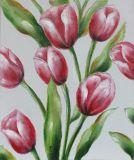 Populäres Hauptdekoration-Blumen-Art-Ölgemälde