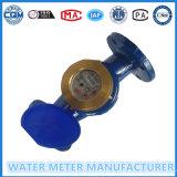 Woltmann Wasser-Messinstrument, großes Diamter, Eisen-Karosserie,