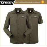 Esdy Quick-Drying respirant de chasse tactique de camouflage tee-shirts manches détachables