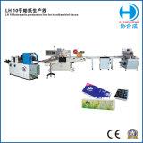 Lenço de papel da máquina de embalagem a camisa de produção Totalmente Automática (Padrão e Mini tecido de bolso)