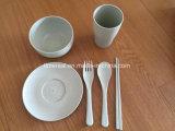 Jeu de dîner de Tablewares de blé de nature Nw003