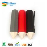 Presentes promocionais Suporte de caneta de silicone portátil para estudantes