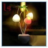 Luz romántica de la noche del sueño de la seta de los nuevos colores LED
