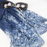 Frauen-Form-Zusatzgeräten-Drucken-Blumen-Schal, Dame Warmer Shawl