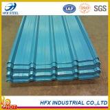 Tuile d'acier de couleur de matériau de construction