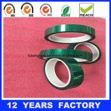 厚さ: 0.08mmの長さ: 33m高温緑ペットフィルムはシリコーンポリエステルテープを基づかせていた