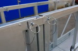 Type construction de Pin Zlp800 nettoyant la plate-forme suspendue provisoire