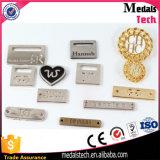 高品質の衣服のためのカスタムロゴの金属の衣類のラベル