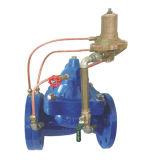 Soupape continuelle oblique de contrôle de flux de pression descendant (470X)
