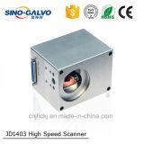 De Galvanometer HoofdJd1403 van de hoge snelheid voor het Merken van de Laser van de Vlieg