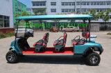 Il Ce di marca di Ziliudi ha approvato il carrello di golf elettrico delle 6 sedi