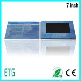 7 Zoll LCD-videobroschüre für das Bekanntmachen und Förderung