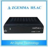 Verdadeiro ATSC DVB-S2 Receptor Combo HD MPEG4 e H. 265 Hevc Zgemma H5. AC