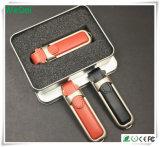 En promotion Flash USB en cuir promotionnel avec faible coût (WY-L05)