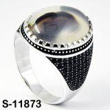 Anello d'argento dei monili del commercio all'ingrosso 925 della fabbrica per l'uomo