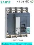 interruttore MCCB 1000A di caso modellato 3p