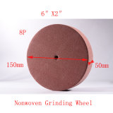 "6 ""X2"" 8p PU Polishing Pad Roll Broyeur Abrasive Non Woven Polishing"