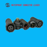 新しい昇進の熱い販売のナイロンねじ2pin 3pinはコネクターを防水する