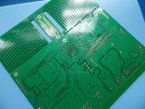 PWB de múltiples capas del control de la impedancia 10 capas con oro de la inmersión
