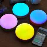 Haut-parleur sans fil coloré de Bluetooth de 360 éclairages LED d'usine de Lxx Chine