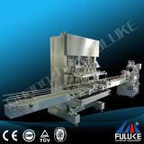 Fuluke Fgj-Yの小さいびんの液体の充填機の自動車の満ちるキャッピング機械