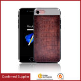2017 Trending Products Crocodile Grain TPU Leather Housse pour téléphone portable