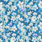 실크 Cdc 직물을 인쇄하는 디지털을%s 꽃 패턴