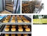 36 anos de forno de túnel personalizado profissional do pão do gás do fabricante de equipamento da padaria