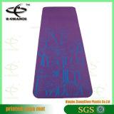 Циновка печати циновок гимнастики физической подготовки цветастая слипчивая