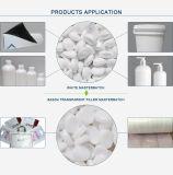 PP/PVC/ABS/パソコン/PA/ペット/Nonwoven布またはフィルムの吹くか、または版またはシートまたは注入のためのPEの微粒の樹脂白いMasterbatch