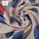 Signora Fashion Viscose Scarf dello scialle stampata istrice occidentale di disegno